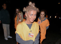 Julianne Hough as Crazy Eyes for Halloween 2013