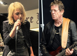 Lou Reed and Metric's Emily Haines