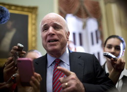 Sen. John McCain (R-Ariz.) is not yet sure whether he'll vote for ENDA. (Photo By Tom Williams/CQ Roll Call)