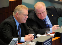 Toronto Mayor Rob Ford believes his brother, Doug, will one day be elected premier of Ontario. (Alamy)