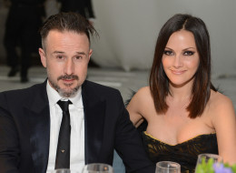 LOS ANGELES, CA - JANUARY 12:  Actor David Arquette and Christina McLarty attend The Art of Elysium's 6th Annual HEAVEN Gala presented by Audi at 2nd Street Tunnel on January 12, 2013 in Los Angeles, California.  (Photo by Michael Kovac/Getty Images for Art of Elysium)