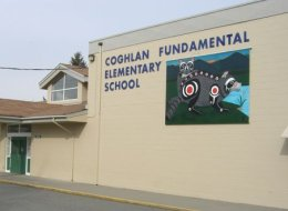 Coghlan Fundamental Elementary School in Aldergrove has outlawed any physical contact among kindergarteners