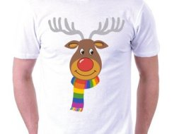 This shirt was removed from eBay for being labeled 'gay interest,' allegedly in violation of the company's adult material policy.