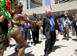 Clips from Toronto Mayor Rob Ford's news conference on Tuesday, when he confessed to smoking crack cocaine, has been remixed by DJ Steve Porter.