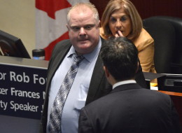 A defiant Toronto Mayor Rob Ford says he's ready to defend himself as he faces a motion expected today at council demanding he take a leave of absence to deal with his admitted crack cocaine use and binge drinking. (CP)