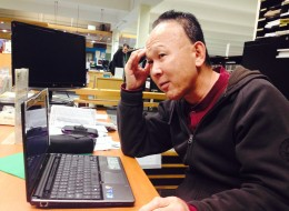Yuji Toyozato exemplifies Canada's digital divide: Homeless and struggling with addiction, even answering his new smartphone is a problem.