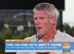 Brett Favre Believes Concussions   Toll Has Got Be Pretty High   Would    Brett Favre Steroids