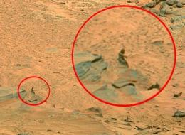 Alien Creature Captured On Mars, UFO Sighting News