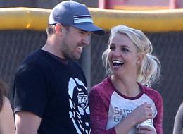 Britney Spears says she is 'in love' with boyfriend David Lucado.