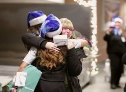 WestJet's Christmas Miracle video may just melt your heart.