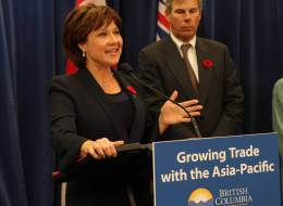Christy Clark is lukewarm to the idea of selling booze in grocery stores, but she's open to other recommendations that have come out of B.C.'s liquor law review.