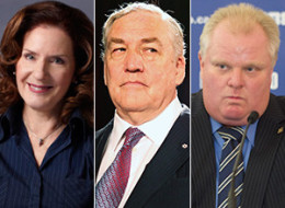 CBC's Carol Off conducted a tough interview with Conrad Black Wednesday night. (CBC/CP/Getty)
