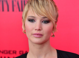 Jennifer Lawrence thinks calling people 'fat' should be illegal. Here, she attends the 'The Hunger Games: Catching Fire' New York premiere on Nov. 20. (James Devaney/WireImage)