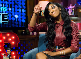 WATCH WHAT HAPPENS LIVE -- Pictured: Porsha Stewart -- Photo by: Charles Sykes/Bravo/NBCU Photo Bank via Getty Images