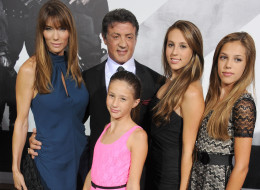 Sylvester Stallone is very protective of his beautiful girls.