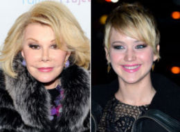 Joan Rivers is still holding a grudge over Jennifer Lawrence's comments about