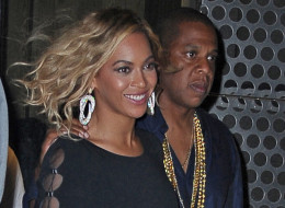 Beyonce and Jay Z reportedly dropped thousands at a NYC sex shop. Here, they are seen in August in NYC. (NCP/Star Max/FilmMagic)