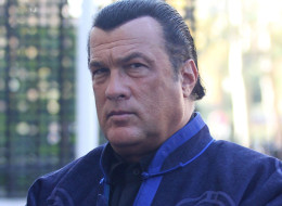 PARIS, FRANCE - OCTOBER 21:  Actor Steven Seagal is sighted at his hotel to promote 'True Justice' TV show on October 21, 2011 in Paris, France.  (Photo by Marc Piasecki/FilmMagic)