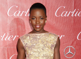 PALM SPRINGS, CA - JANUARY 04: Actress Lupita Nyong'o arrives at the 25th Annual Palm Springs International Film Festival Awards Gala at Palm Springs Convention Center on January 4, 2014 in Palm Springs, California.  (Photo by Gregg DeGuire/Getty Images)