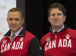 Canada men hockey roster 2014: The team's executive director Steve Yzerman  (Photo by Scott Audette/NHLI via Getty Images)
