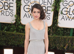 Actress Tatiana Maslany attends the 71st Annual Golden Globe Awards held at The Beverly Hilton Hotel on January 12, 2014 in Beverly Hills, California.  (Photo by Steve Granitz/WireImage)