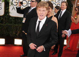 BEVERLY HILLS, CA - JANUARY 12:  Robert Redford arrives at the 71st Annual Golden Globe Awards  at The Beverly Hilton Hotel on January 12, 2014 in Beverly Hills, California.  (Photo by Steve Granitz/WireImage)
