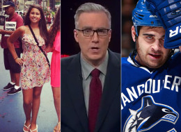 Keith Olbermann took Vancouver Canucks forward Tom Sestito to task for attacking a player off the faceoff. His sister responded with some major sass.