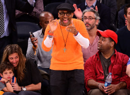 NEW YORK, NY - JANUARY 13:  Spike Lee attends the Phoenix Suns vs New York Knicks game at Madison Square Garden on January 13, 2014 in New York City.  (Photo by James Devaney/WireImage)