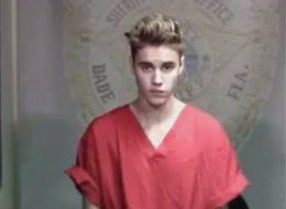 Bieber appearing in court via closed-circuit TV