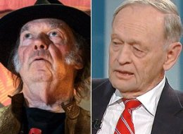 Jean Chretien thinks Neil Young should stick to music. (CP/YouTube)