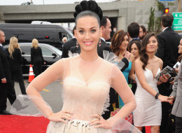 LOS ANGELES, CA - JANUARY 26:  Katy Perry attends the 56th GRAMMY Awards at Staples Center on January 26, 2014 in Los Angeles, California.  (Photo by Kevin Mazur/WireImage)