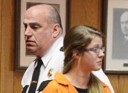 Sheila Eddy, 18, on Jan. 24, 2014 in Monongalia County Circuit Court where she was sentenced to life for the first-degree murder of her former best friend Skylar Neese.