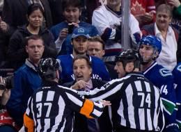 John Tortorella enjoys the support of Canucks' fans despite an outburst that got him suspended.