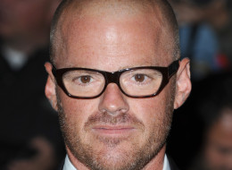 Heston Blumenthal arriving at the GQ Men of the Year Awards, 2011. Held at the Royal Opera House, Covent Garden, London.