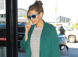 Eva Mendes was spotted at LAX Feb. 1 and sparked pregnancy rumors when she refused to go through the body scanner.