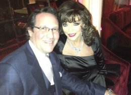 Seems like Joan Collins and her husband like to keep things interesting in the bedroom.