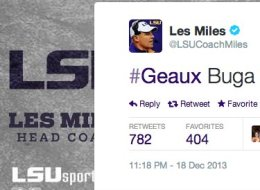 College football coaches and recruiters can interact with high school stars on Twitter.