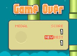most people's best score on flappy bird