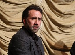 LOS ANGELES, CA - NOVEMBER 30:  Nicolas Cage attends the Film Independent At LACMA Screening And Q&A Of 'The Croods' at Bing Theatre At LACMA on November 30, 2013 in Los Angeles, California.  (Photo by Jonathan Leibson/WireImage)