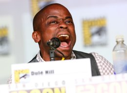 SAN DIEGO, CA - JULY 18:  Actor Dule Hill attends USA Network's 'Psych' panel during Comic-Con International 2013 at San Diego Convention Center on July 19, 2013 in San Diego, California.  (Photo by Imeh Akpanudosen/Getty Images)