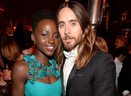 Lupita Nyong'o and Jared Leto dating rumors are flying. Here, the two attend the Weinstein Company & Netflix's 2014 SAG after party in partnership with Laura Mercier at Sunset Tower on January 18, 2014 in West Hollywood, California.  (Photo by Alberto E. Rodriguez/Getty Images for The Weinstein Company)