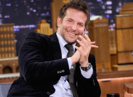 NEW YORK, NY - FEBRUARY 19:  Bradley Cooper visits 'The Tonight Show Starring Jimmy Fallon' at Rockefeller Center on February 19, 2014 in New York City.  (Photo by Jamie McCarthy/Getty Images for The Tonight Show Starring Jimmy Fallon)