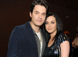 Katy Perry and John Mayer have reportedly split. Here, the two attend Hollywood Stands Up To Cancer Event on Jan. 28.  (Kevin Mazur/Getty Images for Entertainment Industry Foundation)