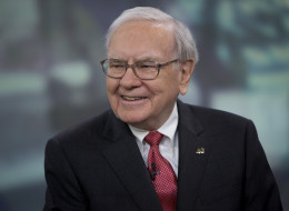 Warren Buffett, chairman and chief executive officer of Berkshire Hathaway Inc., speaks during an interview in New York on Oct. 22, 2013.