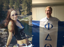 Thomas Bagley (right) told classmates at Duke University that a fellow student was doing porn as