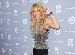 BURBANK, CA - MARCH 24:  Shakira attends her album release party at iHeartRadio Theater on March 24, 2014 in Burbank, California.  (Photo by Jason LaVeris/FilmMagic)