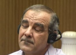 Kassim Alhimidi wailed Tuesday during opening statements of his trial on a charge of murdering his wife, Shaima Alawadi, on March 21, 2012, prompting the San Diego County judge to halt proceedings briefly.