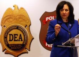 Michele Leonhart of the Drug Enforcement Administration.