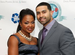 ATLANTA, GA - DECEMBER 09:  Real Housewives of Atlanta cast member Phaedra Parks and her husband Apollo Nida attend the Captain Planet Foundation Annual benefit gala at the Georgia Aquarium on December 9, 2011 in Atlanta, Georgia.  (Photo by Ben Rose/WireImage)