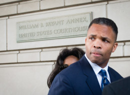 Jesse L. Jackson Jr. was sentenced to 2 1 / 2 years in prison Wednesday for stealing hundreds of thousands of dollars in campaign money to fund an extravagant lifestyle over many years. (Photo by Sarah L. Voisin/The Washington Post via Getty Images)